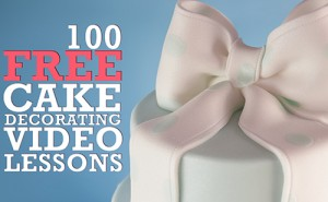 Paul Bradford's 100 FREE Cake Decorating Video Lessons!
