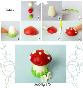 Mushroom Tutorial by Black Betty's LAB