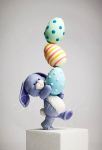 Easter Bunny Cake Topper Tutorial by Rouvelee's Creations