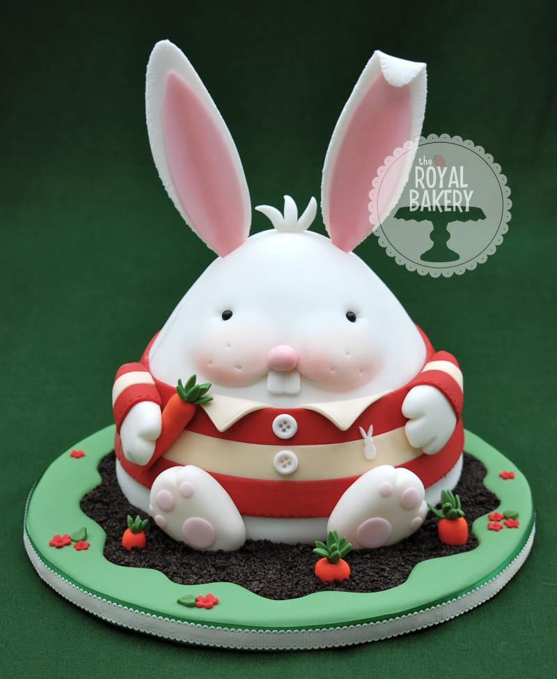 Chubby Bunny Easter Cake Tutorial by Royal Bakery