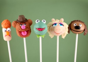 Muppets Cake Pops Tutorials by Bakerella
