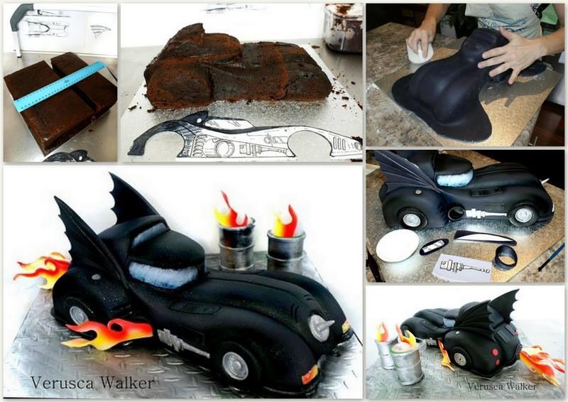 Dark Night 3d Car Cake By Verusca Walker The Cake