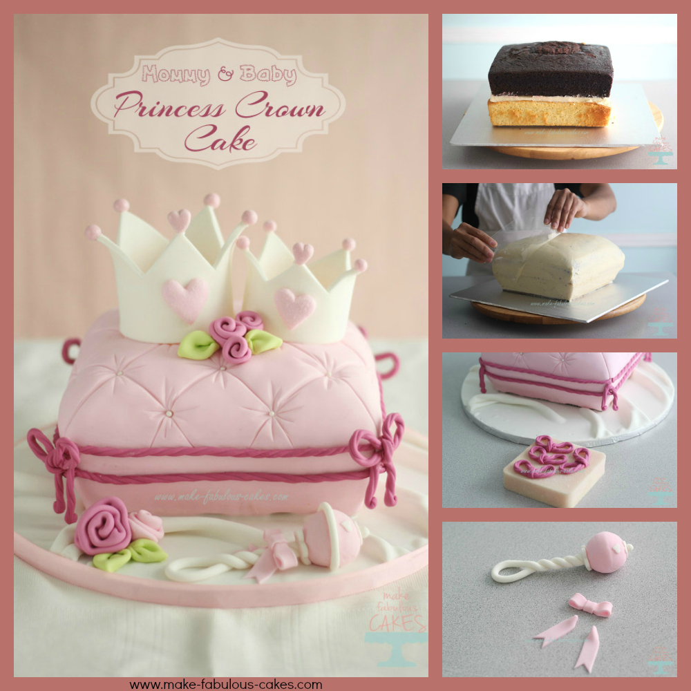 How to make a Cushion Pillow Cake by Make Fabulous Cakes The Cake