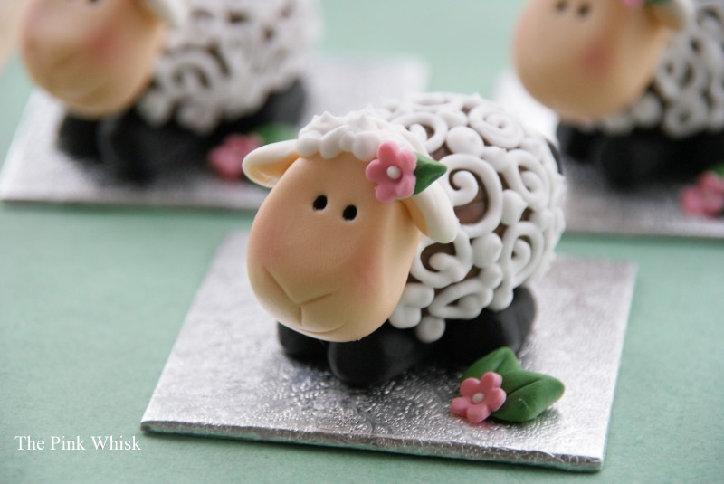 Creme egg lambs Tutorial created by