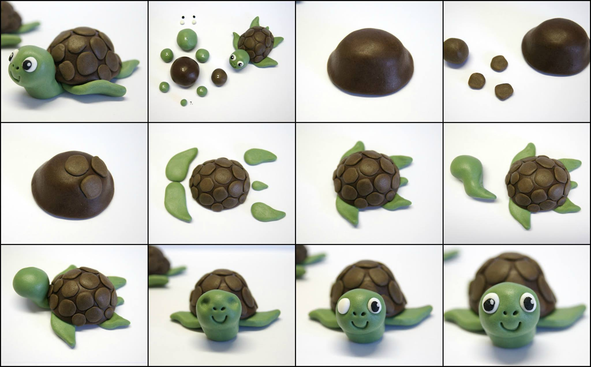 How To Make A Turtle Cake Topper