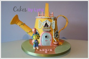 Fifi and the Flowertots Cake Tutorial by Cakes by Lynz