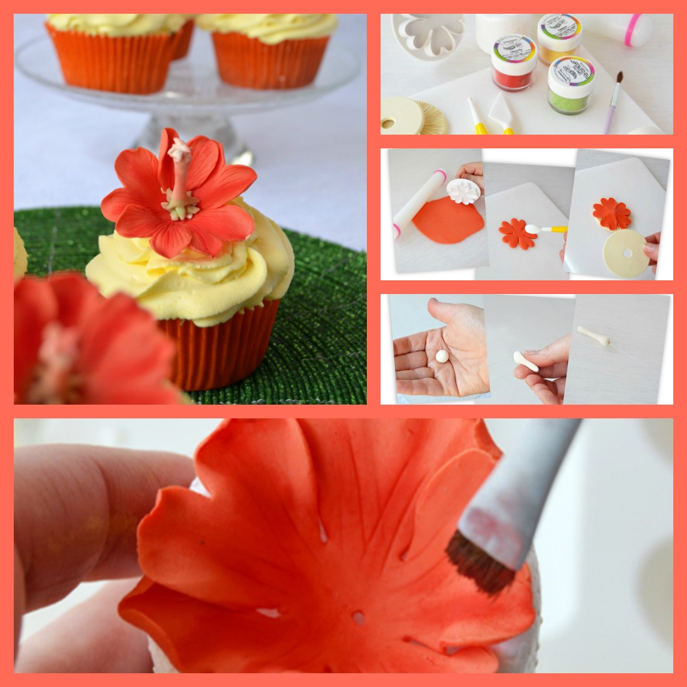 Hibiscus Flower Tutorial By Cupcakes A Diario The Cake Directory