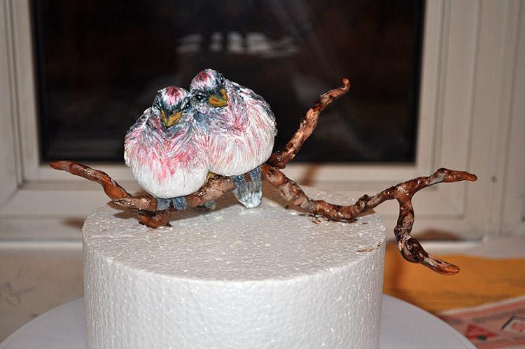 Zorica Cake Art : The Making of Winter Birds by Zorica s Cake Art by ...