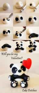 Valentine's Bear Tutorial by Cake Dutchess